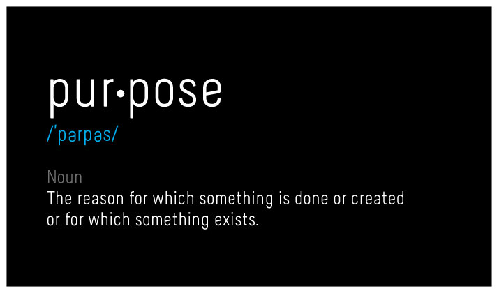 Purpose Defined