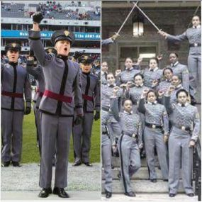 cadets fist up