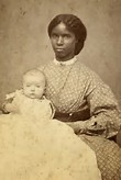 African American Slave Baby