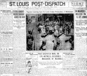 St Louis Massacre 1917