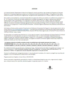 Hartford Housing Choice Voucer Announcement en Espanol_001