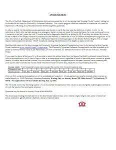 Hartford Housing Choice Voucer Announcement_001
