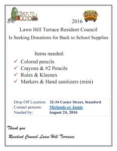 Lawn Hill Terrace School Supplies 080416.1_001