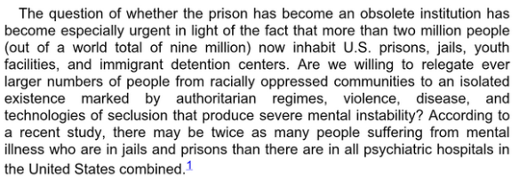 Angela Davis - Are Prisons Obsolete