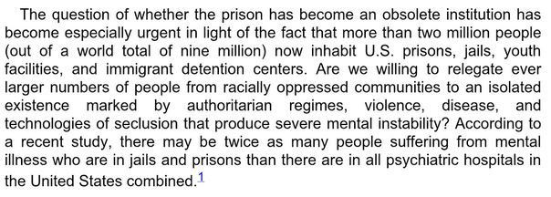 Angela Davis - Are Prisons Obsolete