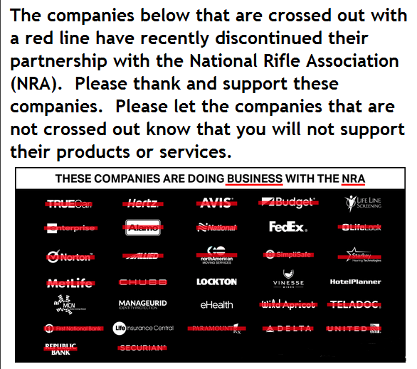 NRA National Rifle Association