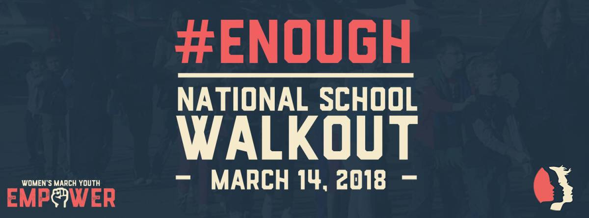 #NationalSchoolWalkOut Check In