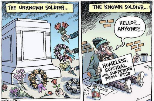 #VeteransDay – The Other Side