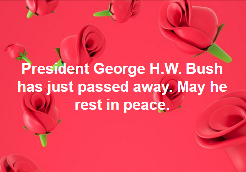 #Goodnight George #Bush