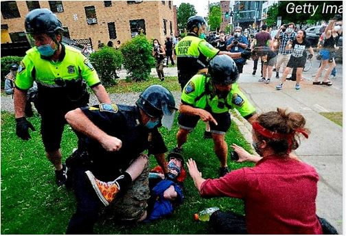 So, it appears the #Police across #America are responding with increased #violence towards#protestors